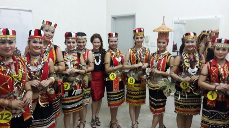 Bidayuh Traditional Costume Dbna Dayak Bidayuh National Association